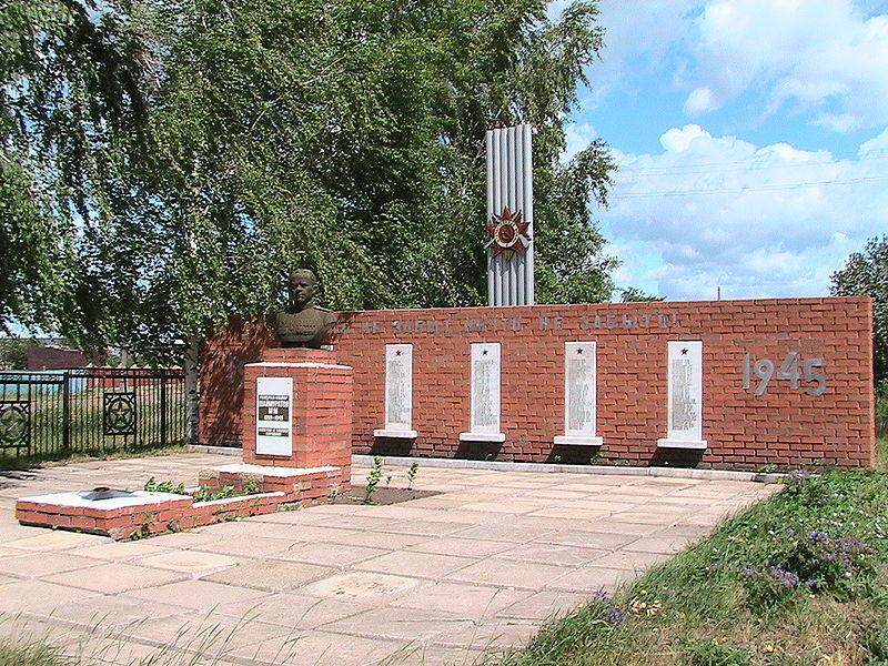 Памятник генералу Шаймуратову